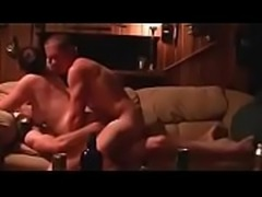 Hot girl piss pee on guys body and cock  outside