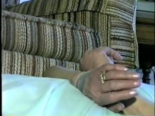 Helpless tied and gagged grandma