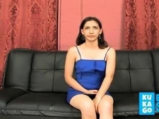 ecuatoriana adolorida en su primer video porno