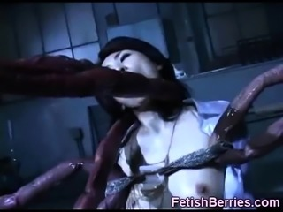 Too Much Tentacles For a Poor Girl!