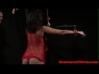 Flogged submissive fucked and jizzed in mouth