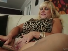 Horny grannies love to masturbate compilation sex video