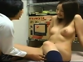 Amateur Asian couple in wild hardcore fuck session