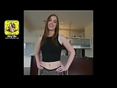 quick fuck in the bathroom finished with an oral creampie