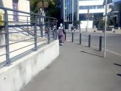 Hijab ass cul