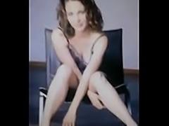 Kelli Williams (Gillian Foster) gets cum spread on her