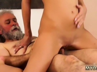 D by dirty old man and watching wife fuck first time