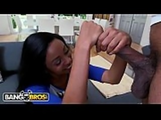 BANGBROS - Precious Little Anya Ivy Gets Ravaged By Big Black Dick