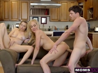 MomsTeachSex- BigTit Aunt Brandi Love Helps Teens Fuck S8:E8