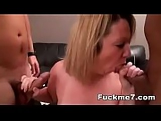 Tricked my wife&#039_s bestfriend thinking I&#039_m her husband best blowjob ever