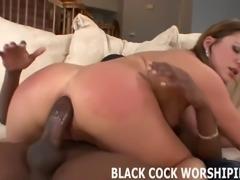 Big black cock gets me soaking wet