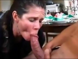 Classic mature premature ejac with simulated sucking added