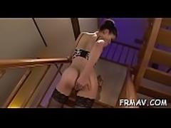 Lusty japanese darling is desperately seeking a needy dong