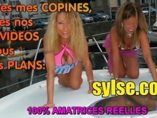 French lesbiennes exhib aiment les godes