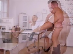 Ria Sunn Ass Spanked Doctor