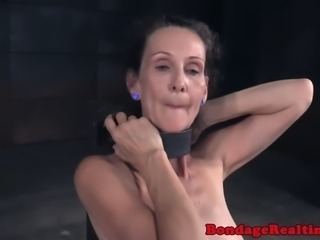 Humiliated beauty whipped by maledom