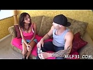 Wonderful milf is getting her tight snatch drilled