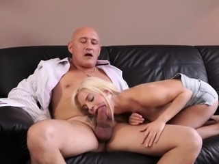 Old big mom and mature slut gangbang Horny blonde wants