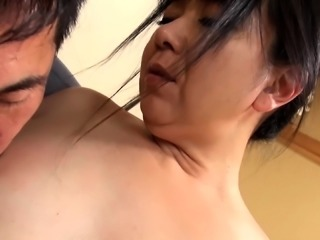 Cheating Asian wife enjoys hardcore sex and gets creampied