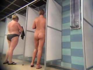 Voyeur cam installed in shower room