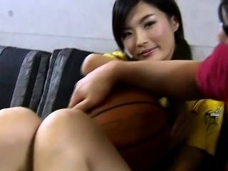 Amateur home video with korean teen