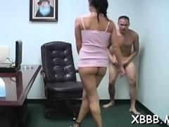Perverted chicks get horny while busting and slapping balls