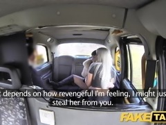 Fake Taxi Horny hot and heavy taxi threesome with great rimm