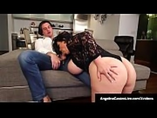 Latina BBW Angelina Castro Does 3Some With Roberta Gemma!