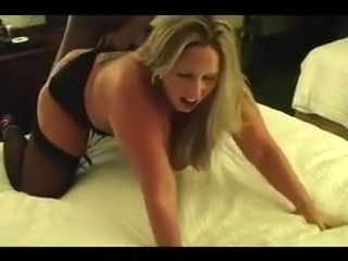 Blonde Wife Gets Punished