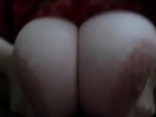 I fuck her tits and she is licking my balls and ass