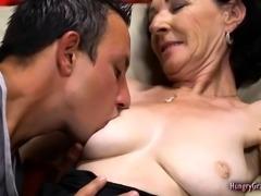 Ugly Grandma Rides a Hard Dong