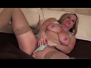 Busty Babe Maggie Green Pleases Herself With Glass Toy! tape 3