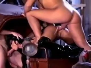 Christina Bella in hot orgy scene