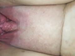 Cum on wet pussy