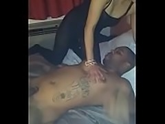 Sucking his dick to thank him for eating my pussy so good, fucking and...