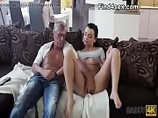 Fucked from behind in ripped pantyhose