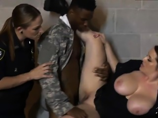 Redhead milf reality and naked heels Fake Soldier Gets