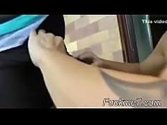 Anette Mature Vaseline Hand Job - Scene 1