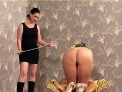 Femdom with spanking