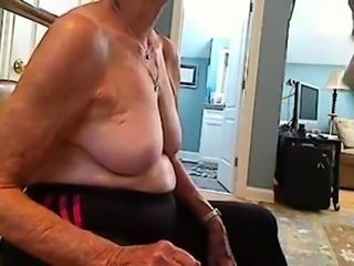 granny sucking dick