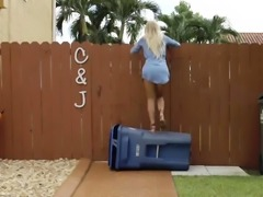 Teen oil and college anal Alone With A Drone
