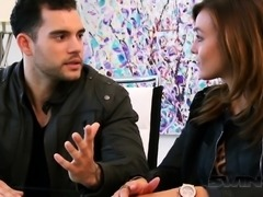 Matt foreplays with other couples as Alexis gets turned on