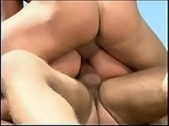 Nasty bitch Gia Paloma enjoys double anal penetration from couple of horny...