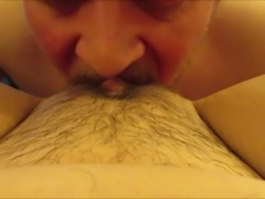 Cuckold PAWG Slut Wife Gets Her Creampied Pussy Cleaned Up