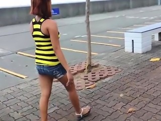 Voluptuous thai wife favors a relaxed guy with a throat job