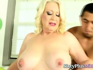 Mature Blonde Screwed