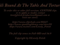 Clip 3Lil - Lili Bound at the Table and Tortured