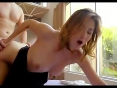 Horny stepdad decides to fuck his hot step daugther