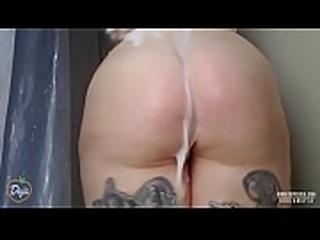Big Ass MILF Shower Teasing