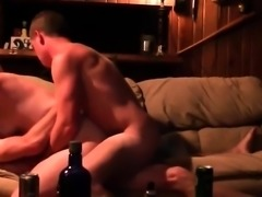 Slutty GF Pleasing Two Dudes
